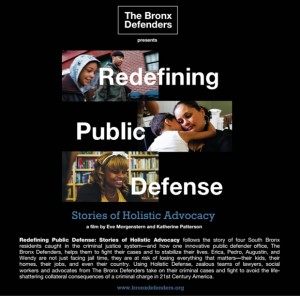 "The Bronx Defenders Begins Screenings of ""Redefining Holistic Defense: Stories of Holistic Advocacy"""