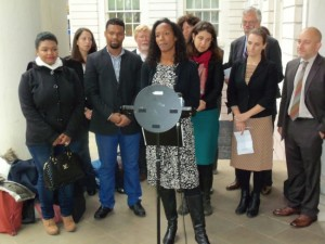 Press Conference - Immigrant Defenders