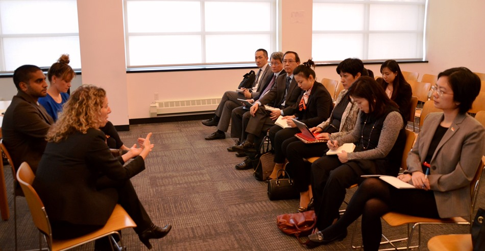 Diplomatic and Educational Delegation from Singapore Visits The Bronx Defenders
