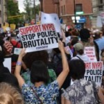 Solidarity at the August 23rd 'March for Justice' on Staten Island