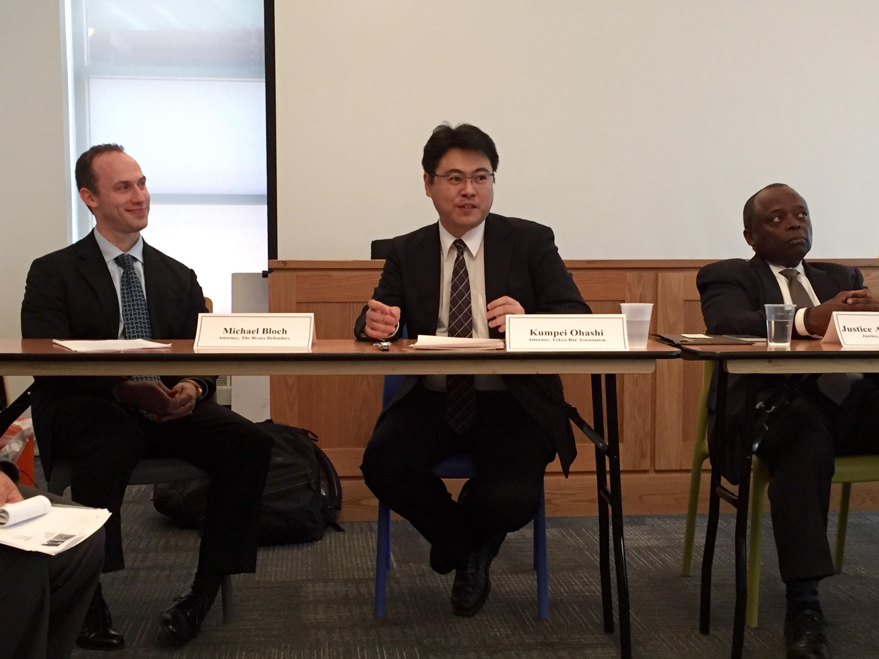 Delegation of criminal defense attorneys from Japan visit BxD